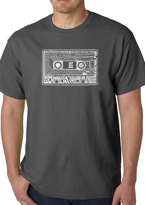 Word Art Graphic T-Shirt - The 80s