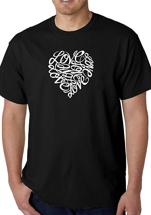 Word Art Graphic T-Shirt - Love