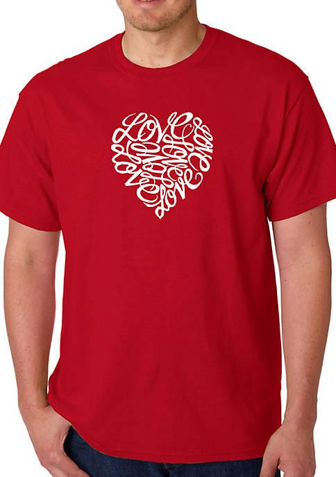 Word Art Graphic T-Shirt - Love