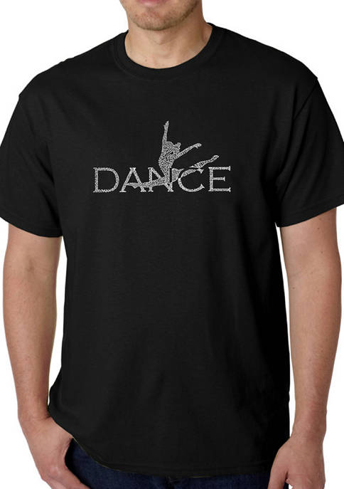 Word Art Graphic T-Shirt - Dancer