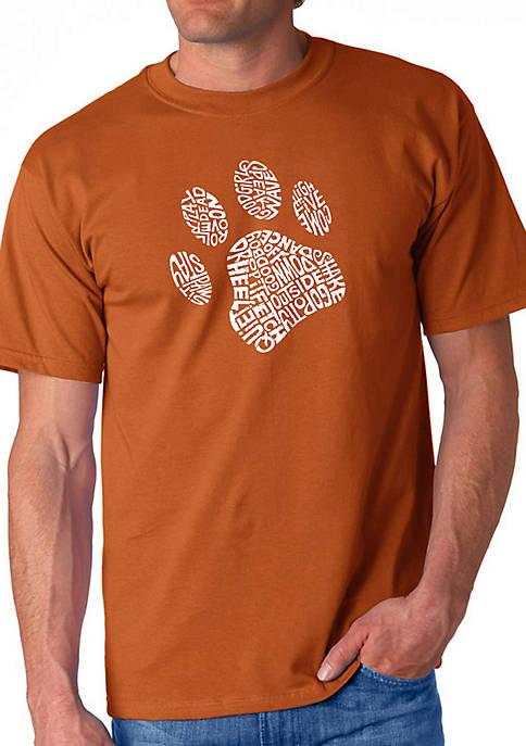 LA Pop Art Word Art Graphic T-Shirt