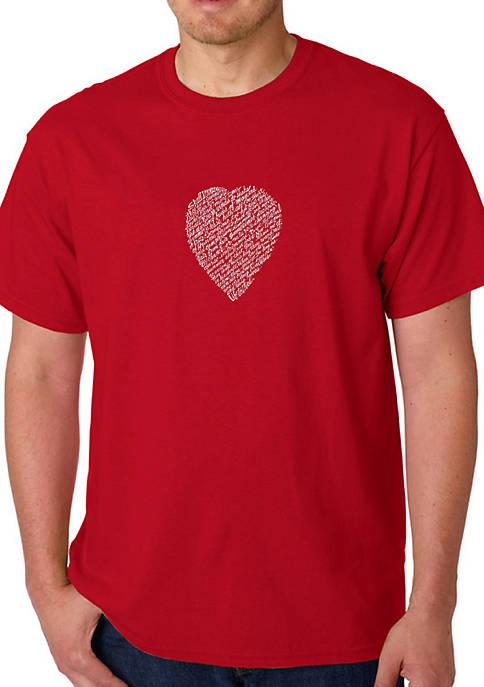 Word Art Graphic T-Shirt - William Shakespeares Sonnet 18