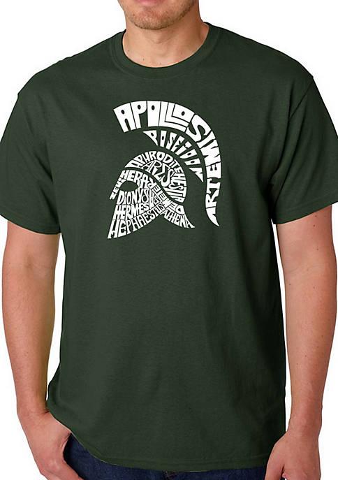 Word Art Graphic T-Shirt - Spartan