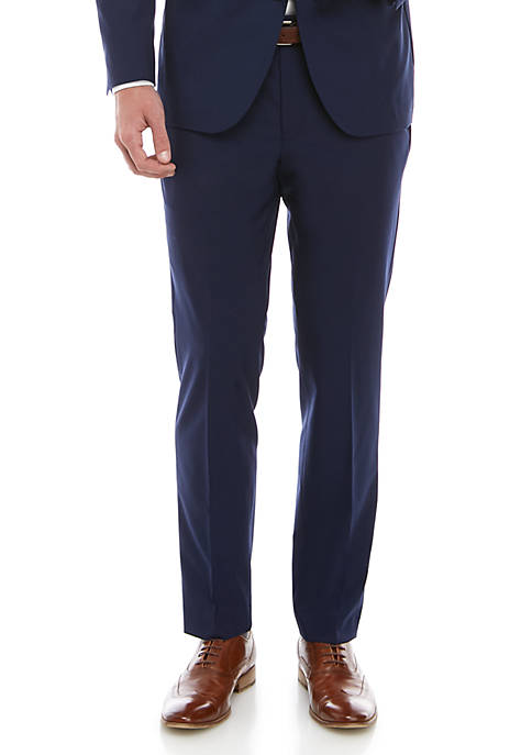 Cole Haan Solid Suit Separate Pants