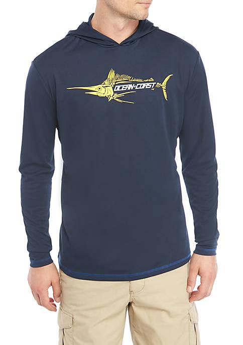 Ocean & Coast® Fishbone Graphic Hoodie