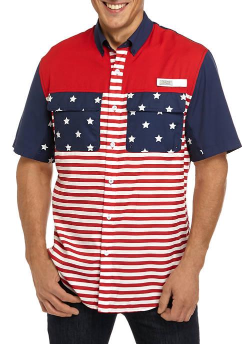 Ocean & Coast® Mens Short Sleeve Color Block