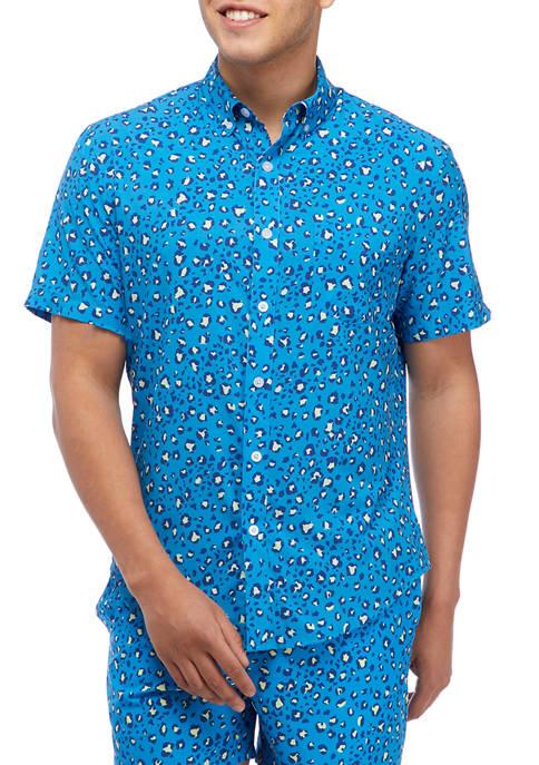 Cool Cat Short Sleeve Woven Shirt