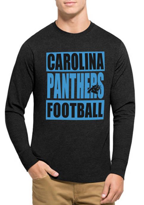 47 Brand Mens NFL Carolina Panthers Club Long