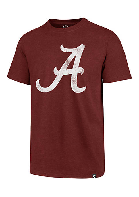 47 Brand Short Sleeve Alabama Throwback Club Tee