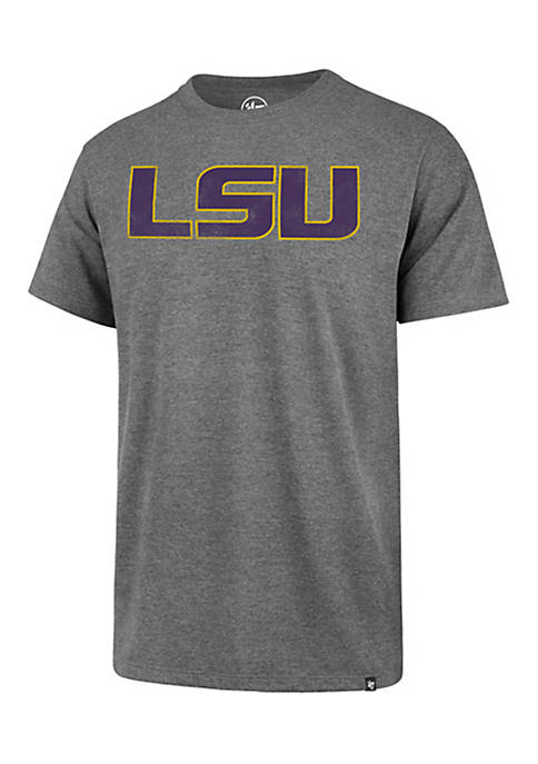 47 Brand Short Sleeve LSU Throwback Club Tee