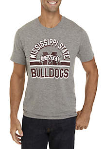 47 Brand Mississippi State Bulldogs Short Sleeve Tee