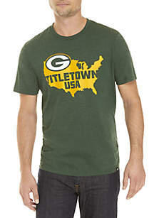 746601fc5 ... 47 Brand Packers Short Sleeve Club Tee
