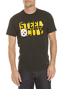 Pittsburgh Steelers Short Sleeve Club Tee