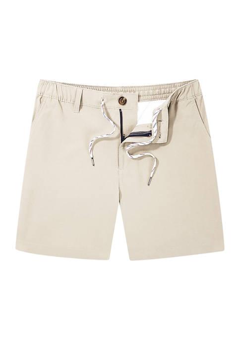 CHUBBIES Mens Beige Khaki Shorts