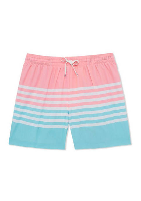 5.5 Inch The On The Horizons Stretch Swim Shorts