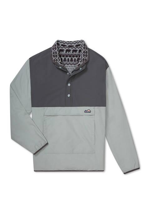CHUBBIES Mens The Grey Anatomy Fleece Pullover