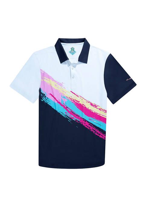 CHUBBIES Mens The Tennis Champ Polo Shirt