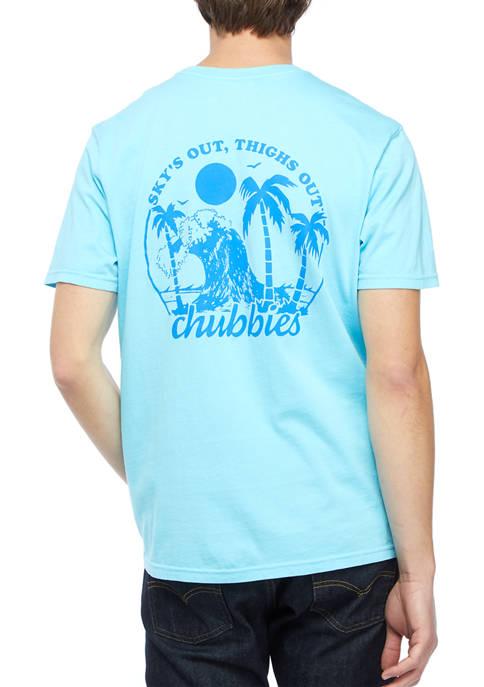 CHUBBIES SoTo Wave Graphic T-Shirt