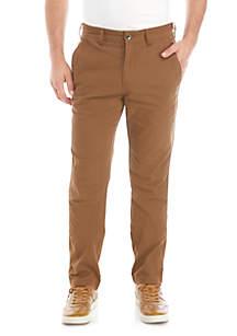Ocean & Coast® Canvas Utility Flat Front Pants