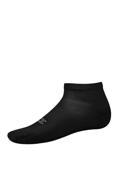 Mens 6 Pack Quarter Ankle Socks