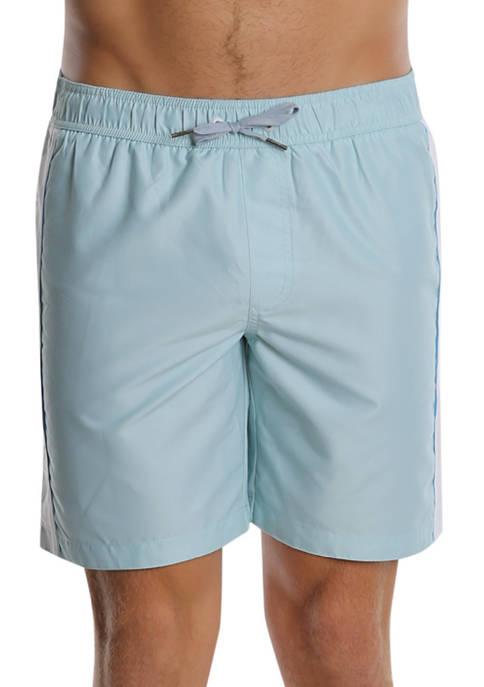 PGA TOUR® Green PGA Logo Swim Trunks