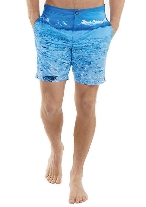 JACHS Lagoon Swim Trunks