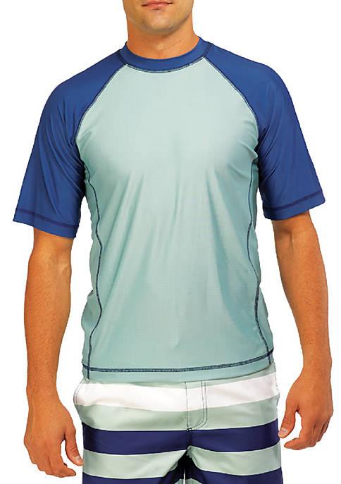 Caribbean Joe Short Sleeve Swim T-Shirt