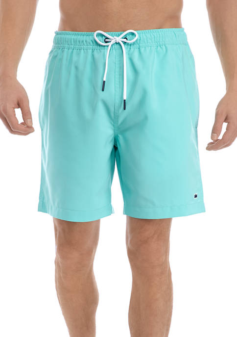 Crown & Ivy™ Mens Solid Swim Trunks