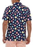 Short Sleeve Performance Button Down Shirt