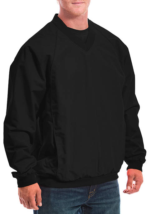 Franchise Club Big & Tall Elite Windshell Pullover