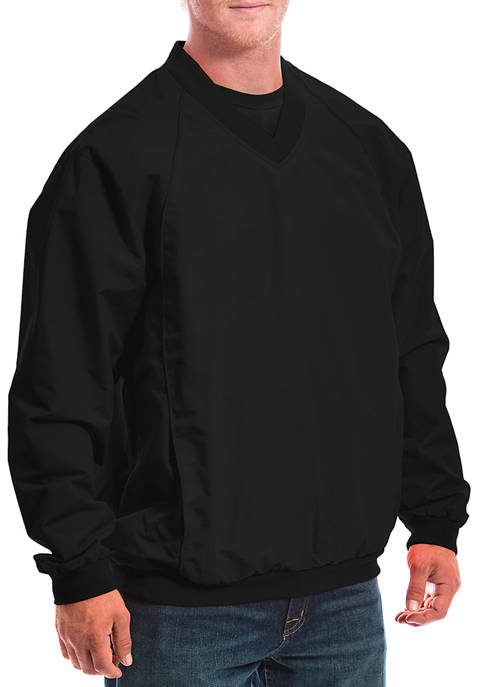 Mens Elite Windshell Pullover Jacket