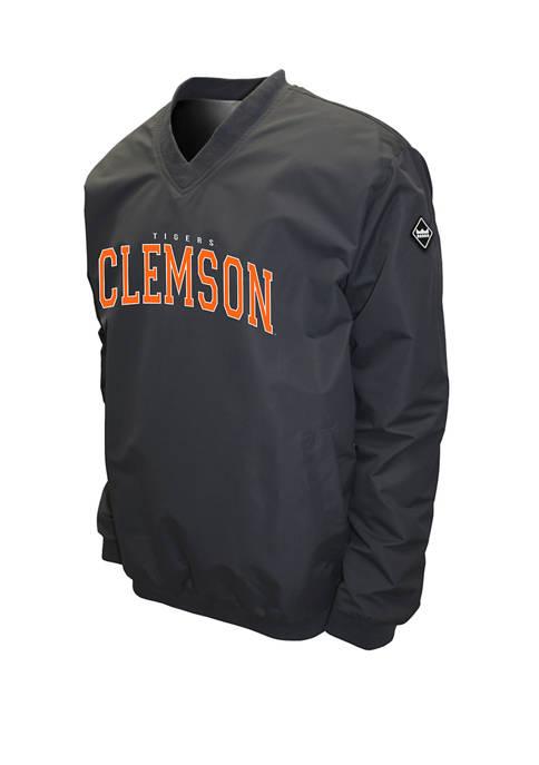Franchise Club NCAA Clemson Tigers Members Windshell Jacket