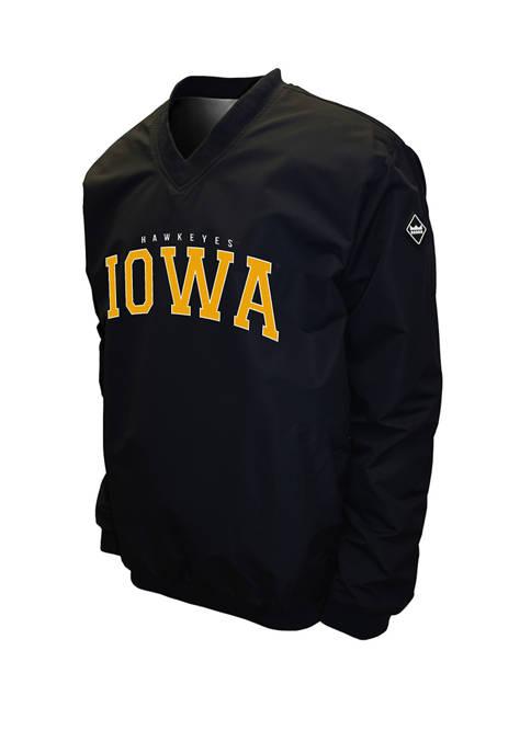 Franchise Club NCAA Iowa Hawkeyes Members Windshell Jacket