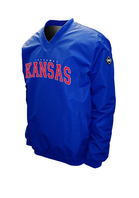 Franchise Club NCAA Kansas Jayhawks Members Windshell Jacket