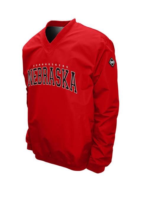 NCAA Nebraska Cornhuskers Members Windshell Jacket