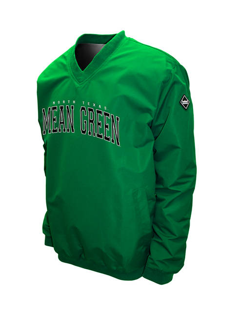 NCAA North Texas Mean Green Members Windshell Jacket