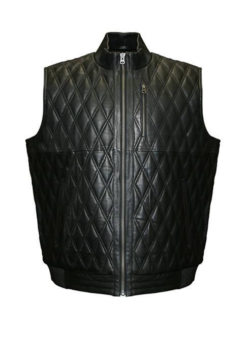 Franchise Club Big & Tall Diamond Vest