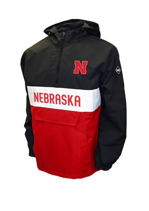 NCAA Nebraska Cornhuskers Alpha Anorak Jacket
