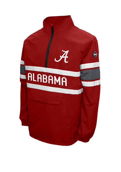 NCAA Alabama Crimson Tide Alpha Quarter Pullover Jacket