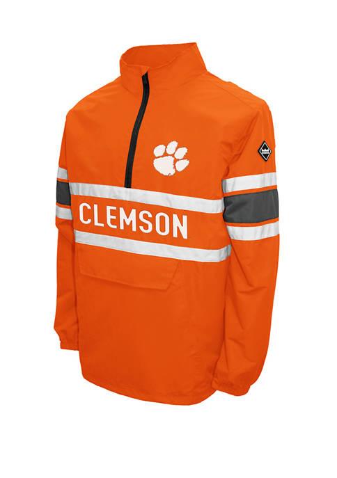 Franchise Club NCAA Clemson Tigers Alpha Quarter Zip