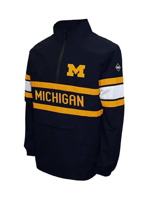 Franchise Club NCAA Michigan Wolverines Alpha Quarter Zip