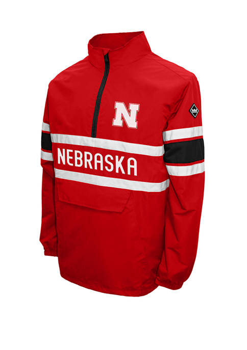 Franchise Club NCAA Nebraska Cornhuskers Alpha Quarter Zip