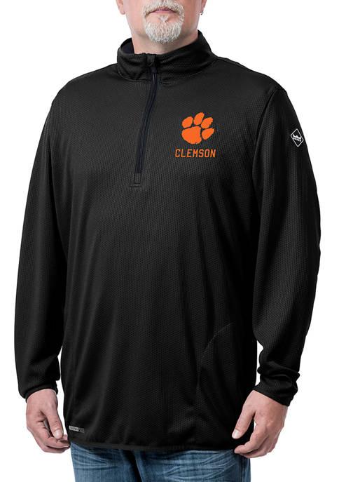 NCAA Clemson Tigers Flow Thermatec Quarter Zip Jacket