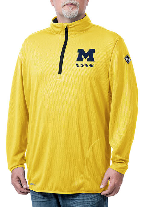 Franchise Club NCAA Michigan Wolverines Flow Thermatec Quarter