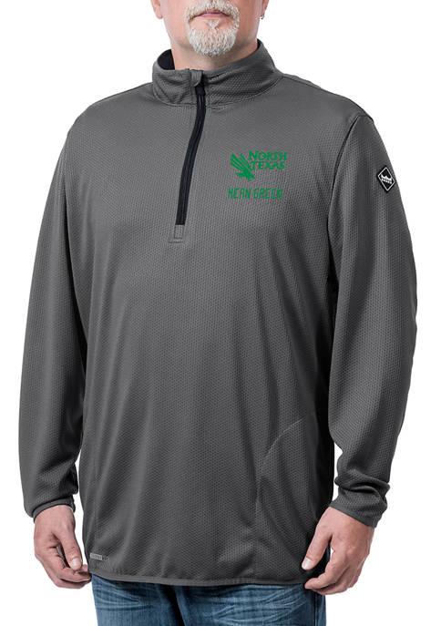 NCAA North Texas Mean Green Flow Thermatec Quarter Zip Jacket