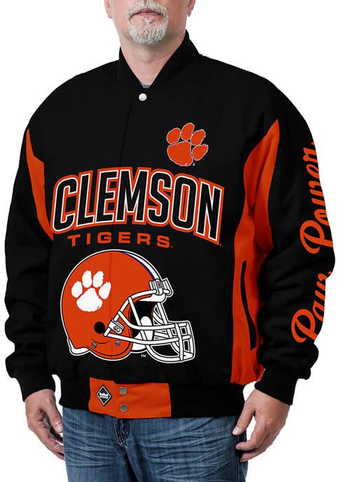 NCAA Clemson Tigers Top Dog Twill Jacket