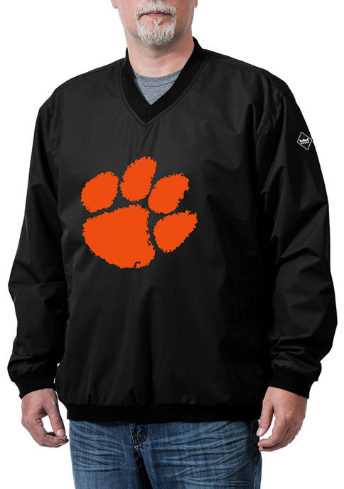 Franchise Club NCAA Clemson Tigers Franchise Logo Pullover
