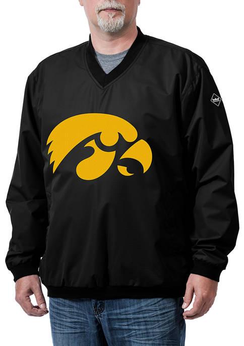 Franchise Club NCAA Iowa Hawkeyes Franchise Logo Pullover