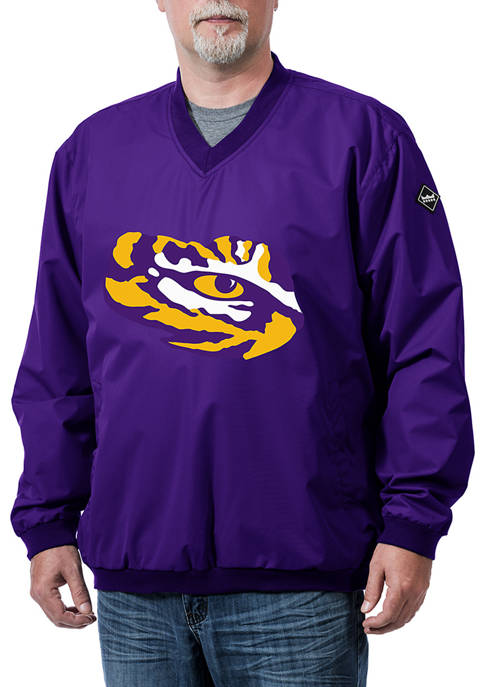 NCAA LSU Tigers Franchise Logo Pullover Jacket