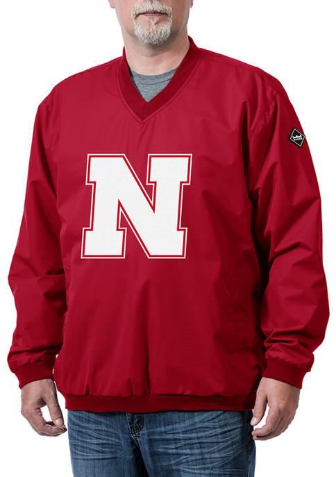 NCAA Nebraska Cornhuskers Franchise Logo Pullover